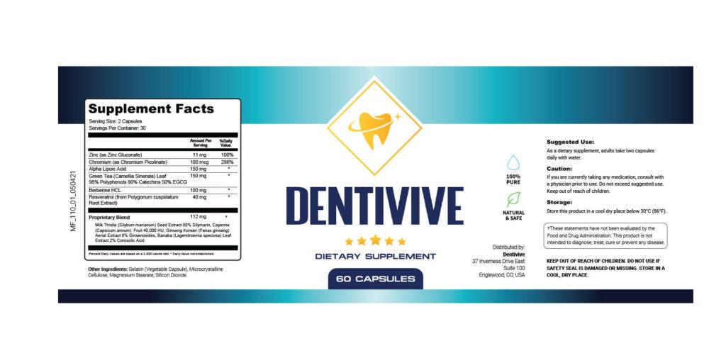 DentiVive Dosage